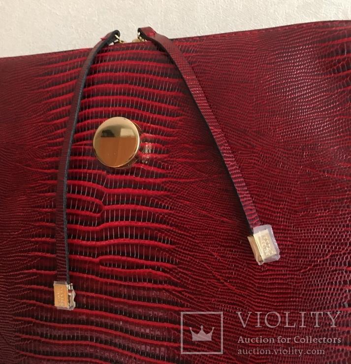 Брендовый чемоданчик-косметичка-футляр с ручкой Estee Lauder. 32/ 27/10 см, фото №3