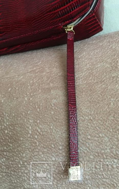 Брендовый чемоданчик-косметичка-футляр с ручкой Estee Lauder. 32/ 27/10 см, фото №11