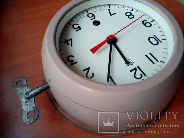 Каютные часы, 2 квартал 1980 года с подчасником