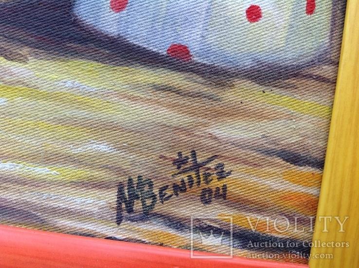 2004  Te lo regalo. N.Benitez. Куба. 30x20, фото №7