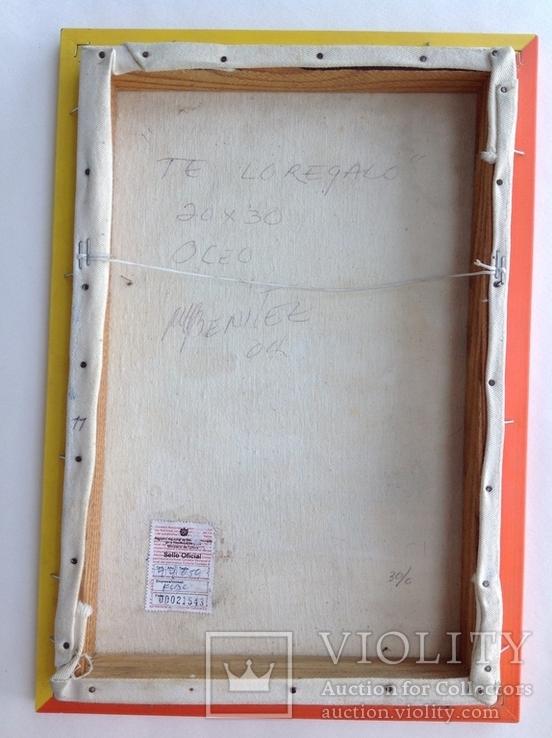 2004  Te lo regalo. N.Benitez. Куба. 30x20, фото №8