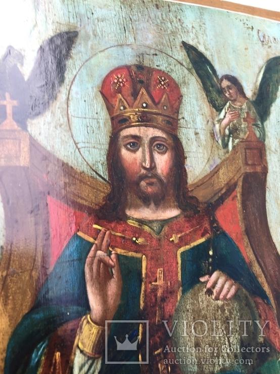 Икона Спас на троне, фото №3