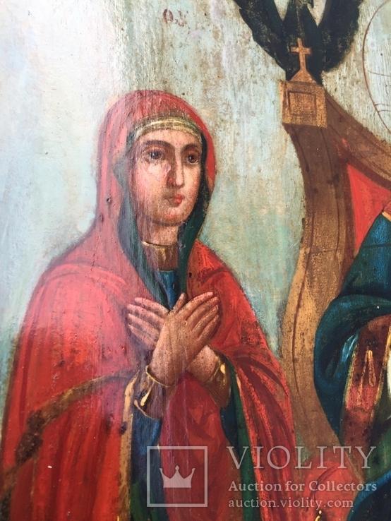 Икона Спас на троне, фото №4