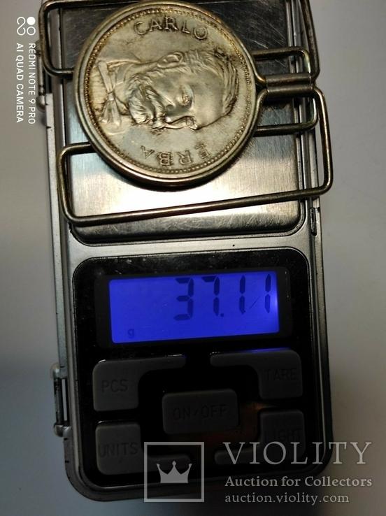 Серебряный зажим для денег, фото №9