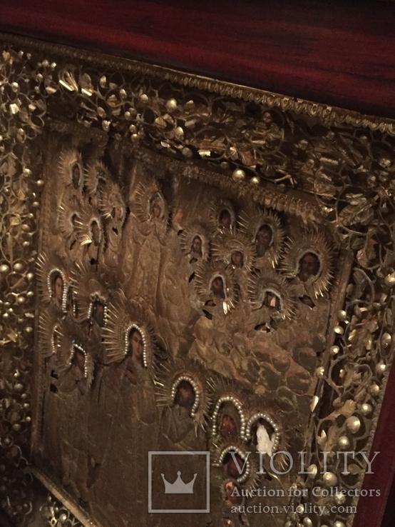 Икона Покрова Пресвятой Богородицы, фото №11