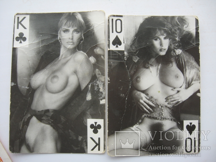 Карты девушки ню,5 шт, фото №4