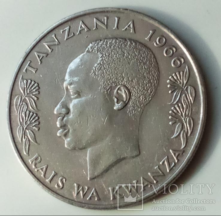 1 шиллинг 1966 г. Танзания, фото №2