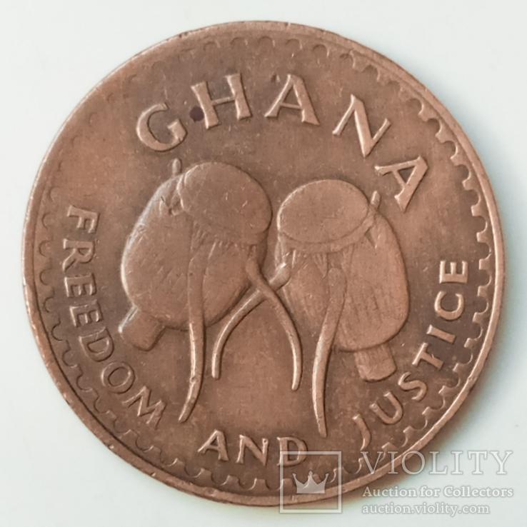 1 песева 1967 г. Гана, фото №2