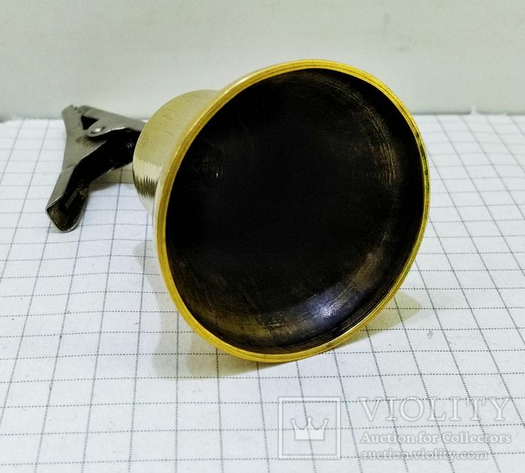 Колокольчик бронзовый с прищепкой, фото №7