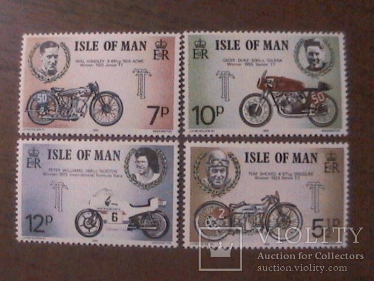 О-в Мэн 1975 мотоциклы