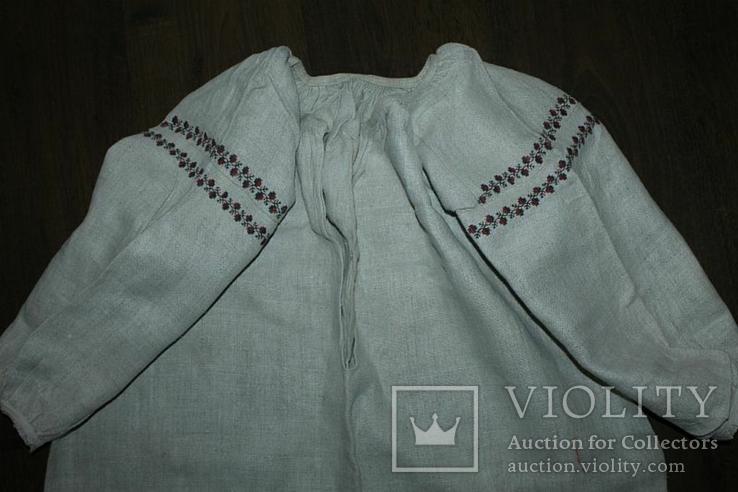 Сорочка вышиванка старинная №38, фото №2