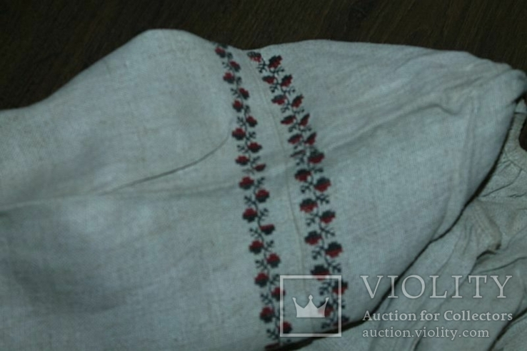 Сорочка вышиванка старинная №38, фото №5
