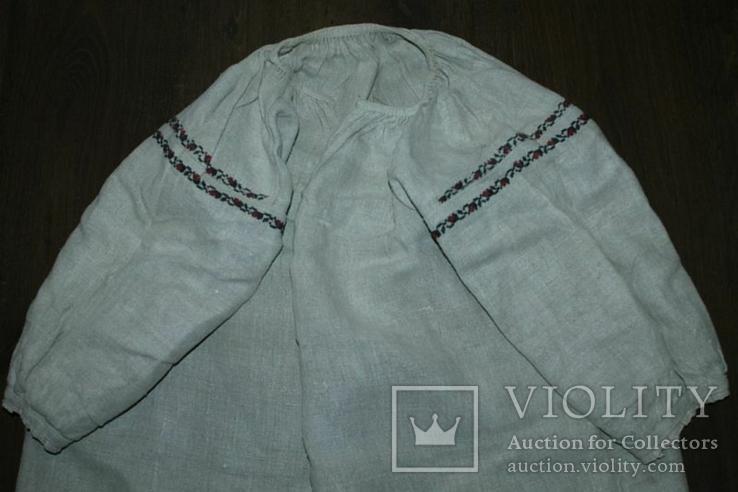 Сорочка вышиванка старинная №39, фото №2