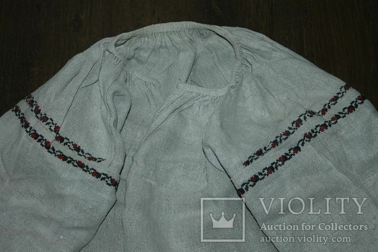 Сорочка вышиванка старинная №39, фото №3