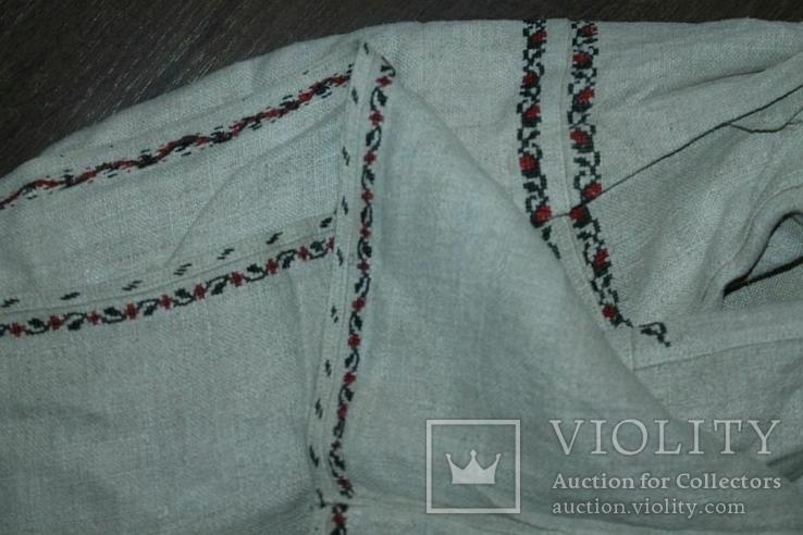 Сорочка вышиванка старинная №39, фото №10