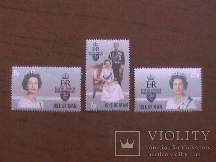 О-в Мэн 1977 юбилей королевы