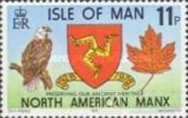 О-в Мэн 1978 герб