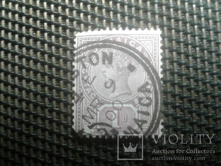 Марки 1889 г.Ямайка колония Британии