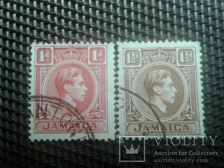 Марки 1938г.Ямайка колония Британии
