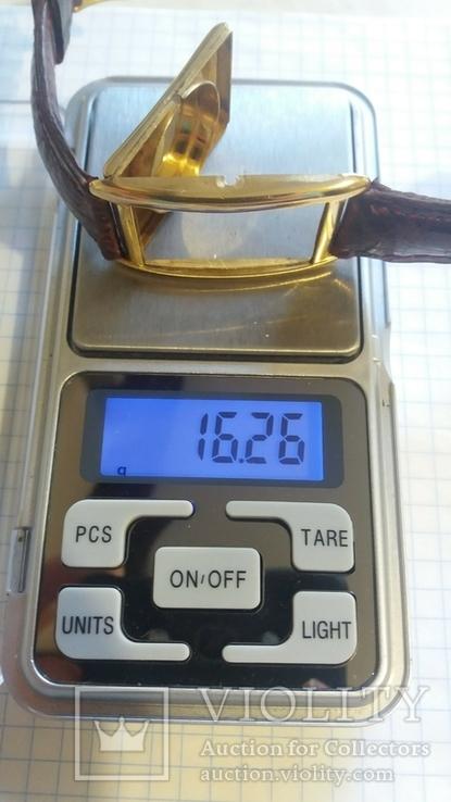 Золотые швейчарские часы 750 пробы ANCRE 15 RUBIS, фото №3