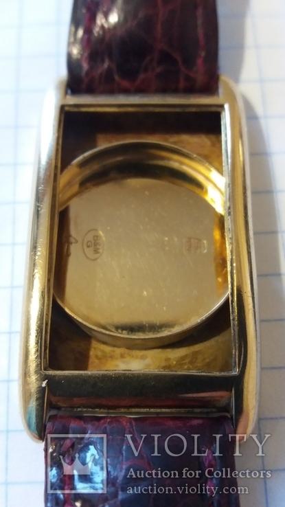 Золотые швейчарские часы 750 пробы ANCRE 15 RUBIS, фото №5