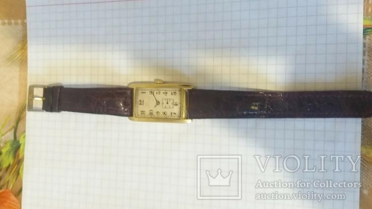 Золотые швейчарские часы 750 пробы ANCRE 15 RUBIS, фото №9