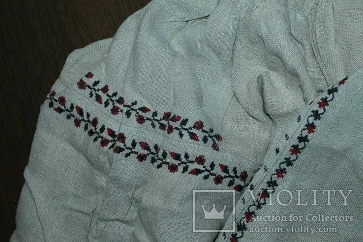 Сорочка вышиванка старинная №40, фото №7