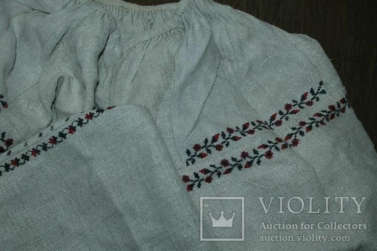 Сорочка вышиванка старинная №40, фото №8