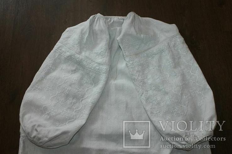 Сорочка вышиванка старинная №41, фото №2