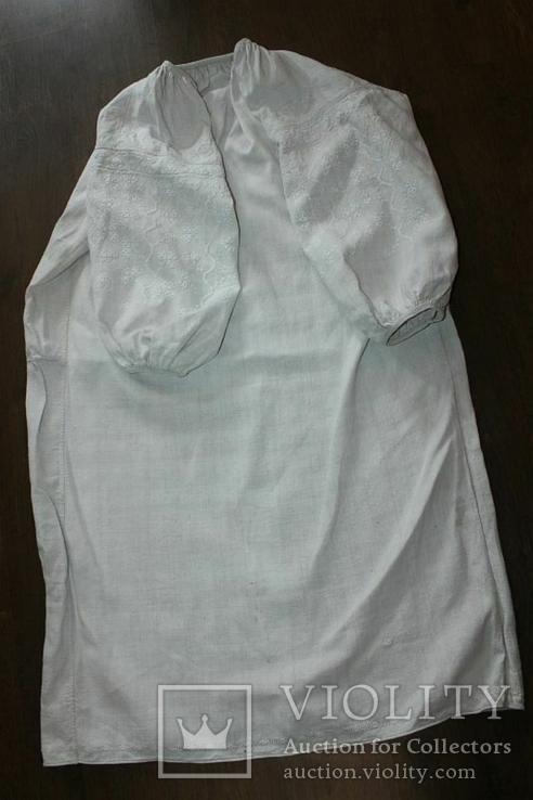 Сорочка вышиванка старинная №41, фото №5