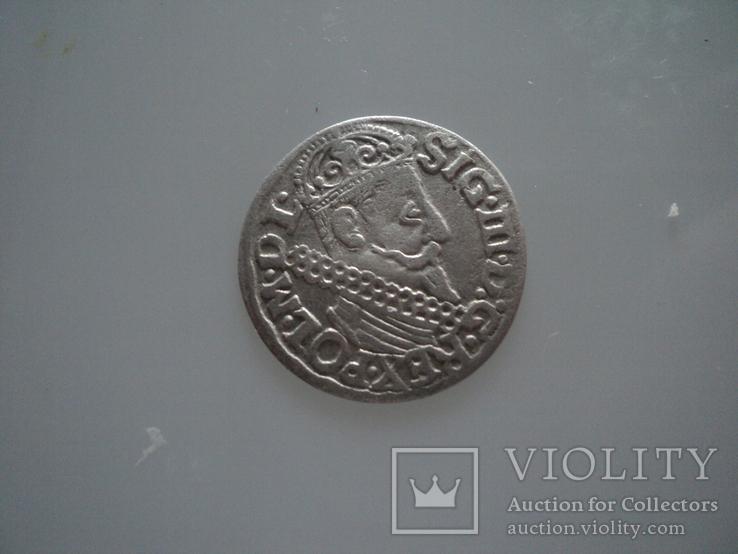 Трояк 1622 г, фото №2