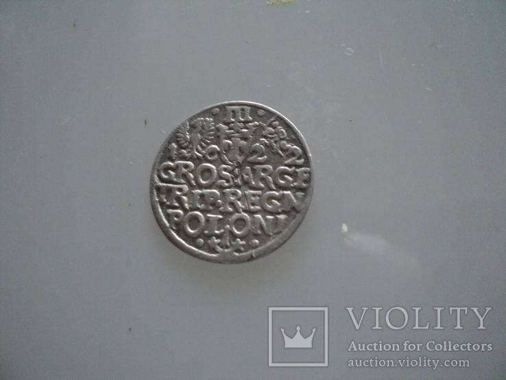 Трояк 1622 г, фото №6