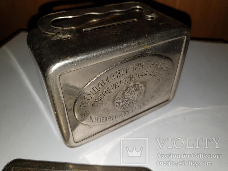 Копилка-чемодан, агитация, 1927 г., фото №2