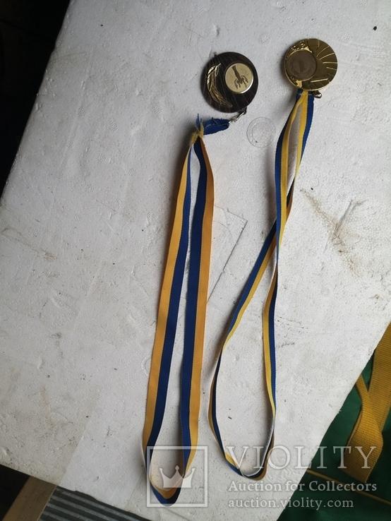 Медали спортивные 2 шт, фото №11