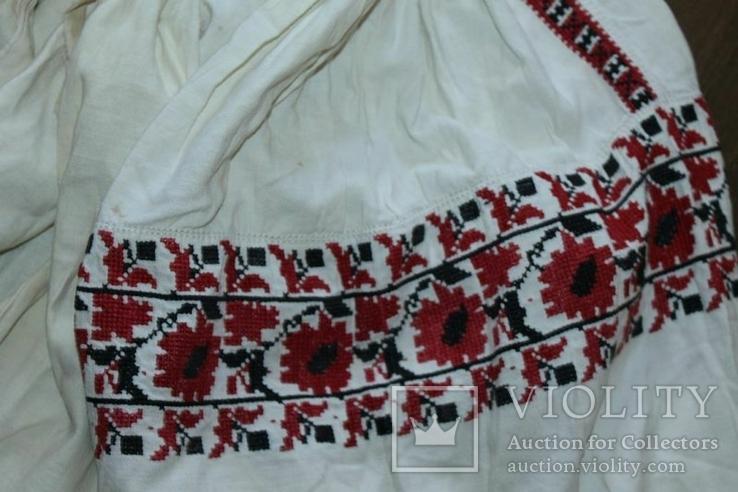 Сорочка вышиванка старинная №42, фото №4