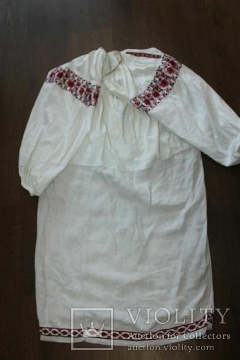 Сорочка вышиванка старинная №42, фото №8