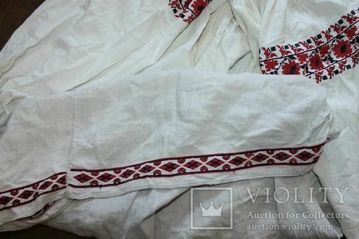Сорочка вышиванка старинная №42, фото №10