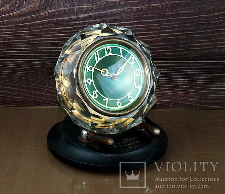 Часы настольные МАЯК Снежинка (3 штуки), фото №4