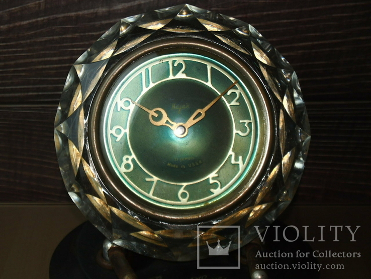 Часы настольные МАЯК Снежинка (3 штуки), фото №5