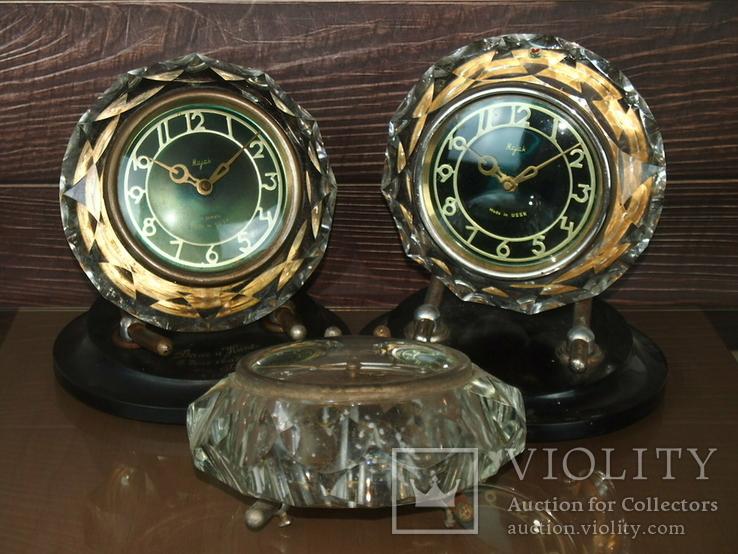 Часы настольные МАЯК Снежинка (3 штуки), фото №10