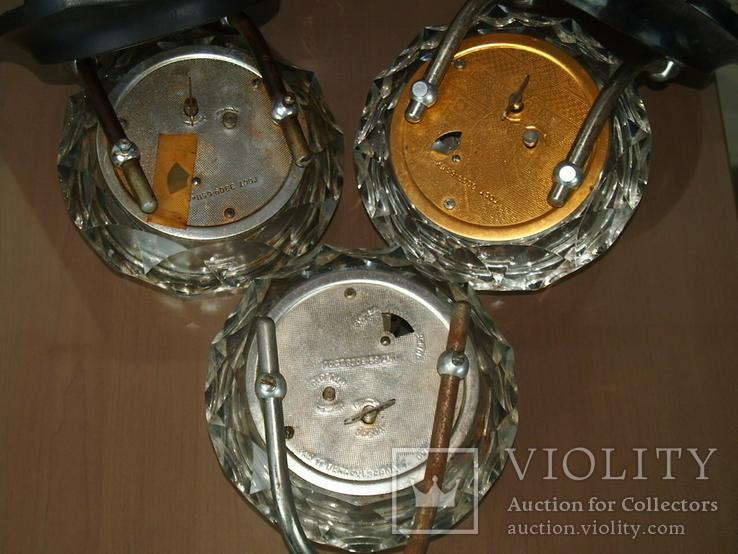 Часы настольные МАЯК Снежинка (3 штуки), фото №11