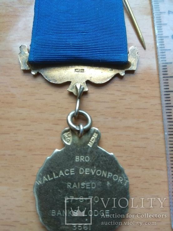 Серебряная награда Старинного Королевского Ордена Буйволов, фото №4