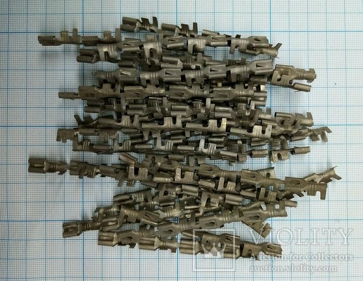 420 клемма латунная с покрытием 140шт., фото №2