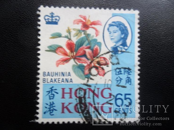 Британские колонии. Гонконг. 1968 г. гаш. Каталог- 23 дол. США