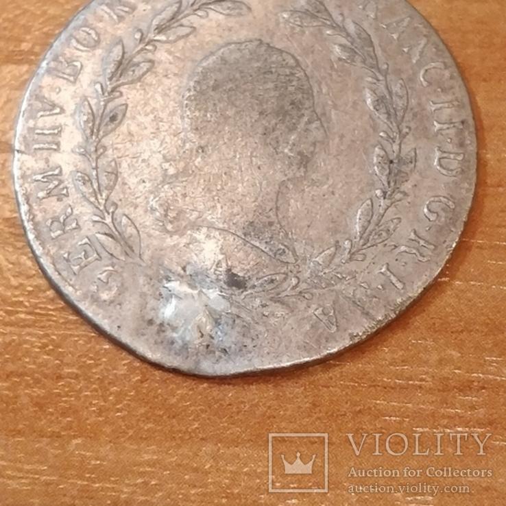 Австрия 1803 г.,20 крейцеров, фото №3