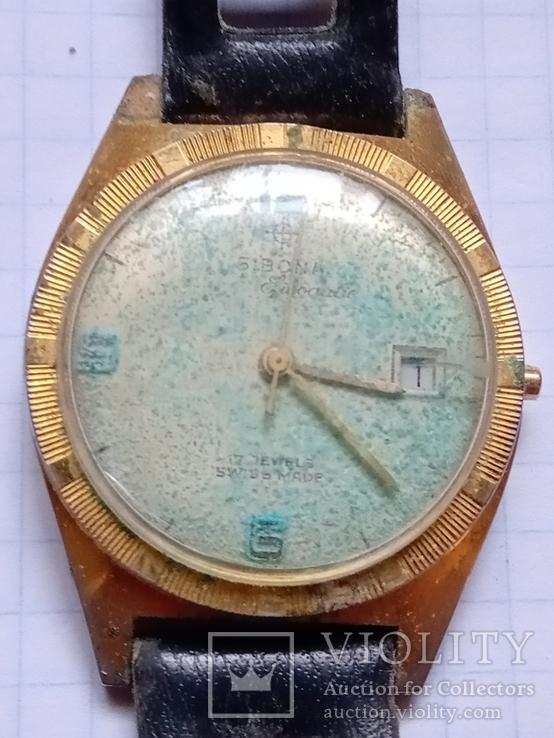 Швейцарские часы Sibona., фото №2