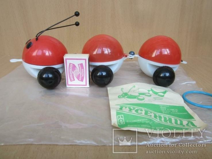 "Детская игрушка - ""Гусеница""., фото №4"