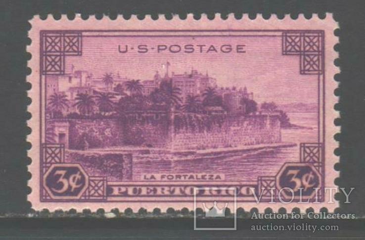 США. 1937. Пуэрто-Рико **.
