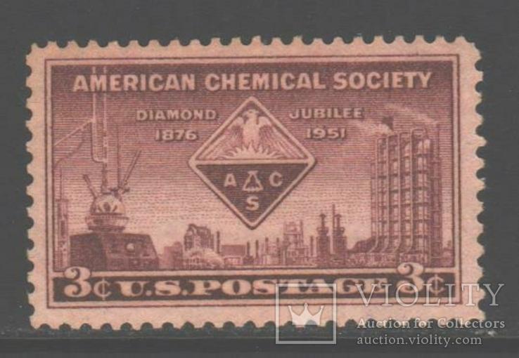 США. 1951. Химическая индустрия **.