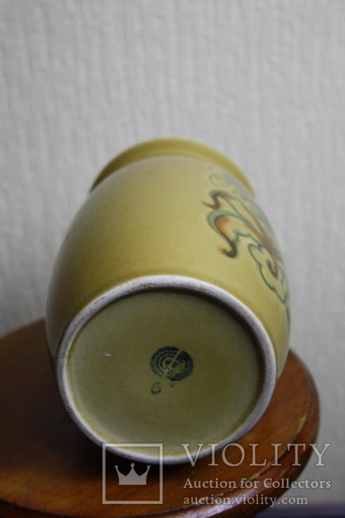 Ваза керамика  18см., фото №3